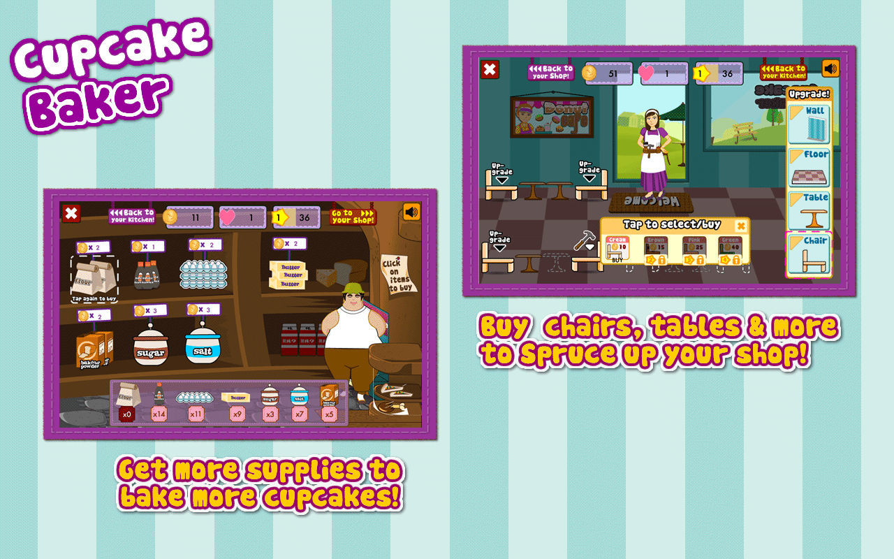 Screenshot 5 for Cupcake Baker