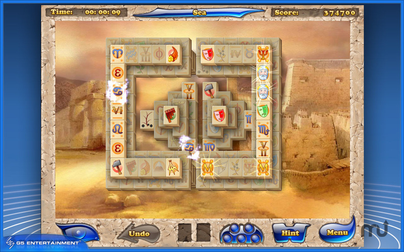Screenshot 1 for Mahjong Artifacts