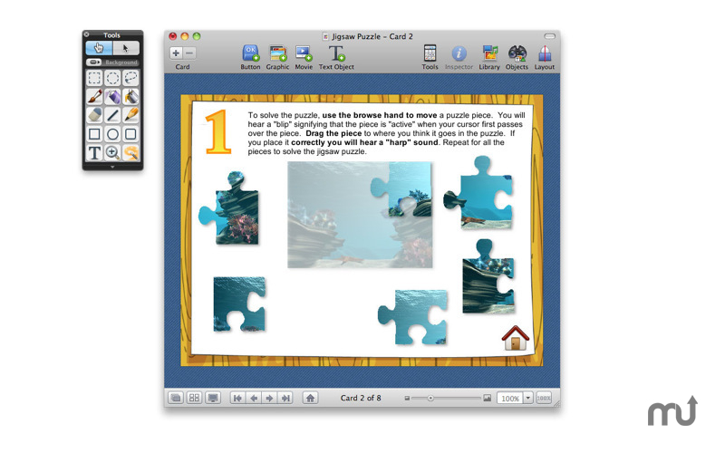Screenshot 1 for HyperStudio 5