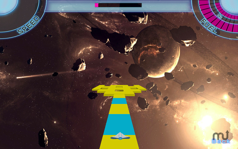 Screenshot 1 for Space Roads
