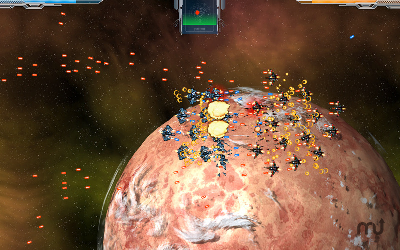 Screenshot 1 for Space Hedgehogs vs. Space Cacti