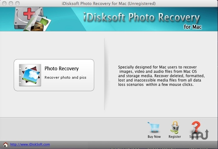 Screenshot 1 for iDisksoft Photo Recovery