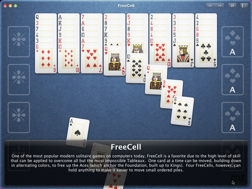 Screenshot 1 for Mondo Solitaire