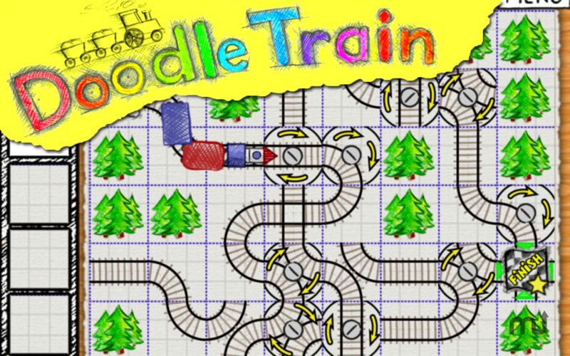Screenshot 1 for Doodle Train