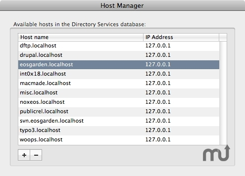 Screenshot 1 for Host Manager