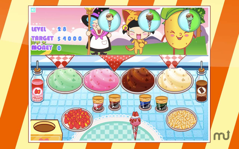 Screenshot 1 for Ice-Cream Shop of Pixy