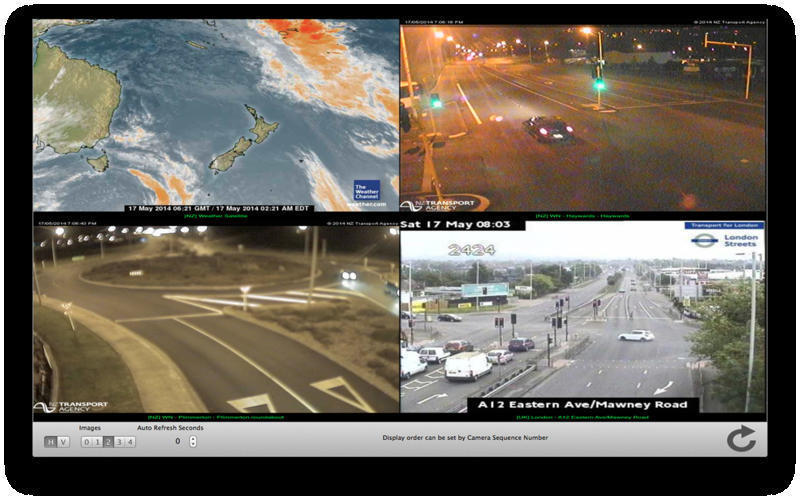 Screenshot 1 for TrafficCamNZ