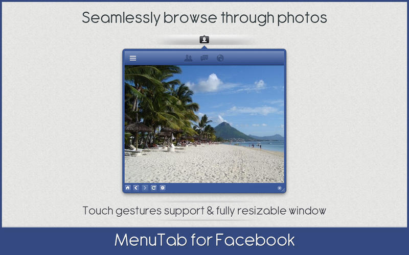 Screenshot 4 for MenuTab for Facebook