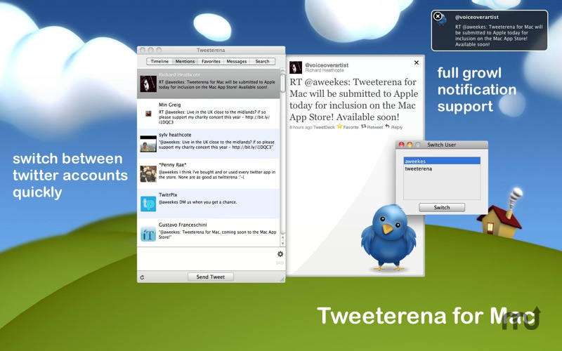 Screenshot 1 for Tweeterena
