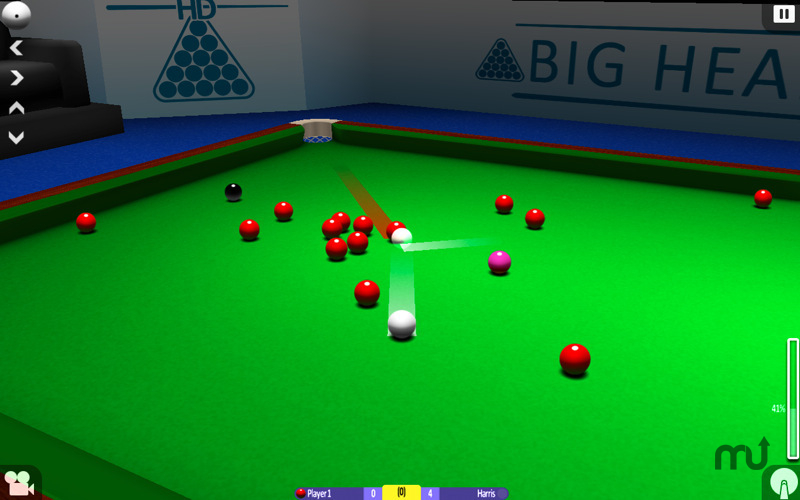 Screenshot 1 for International Snooker HD