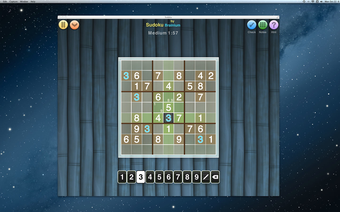 Screenshot 2 for Sudoku OneTouch