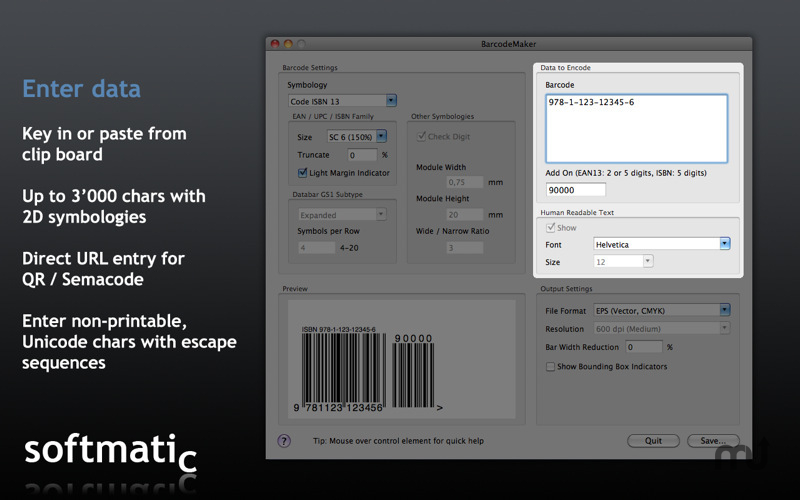 Screenshot 1 for Barcode Maker