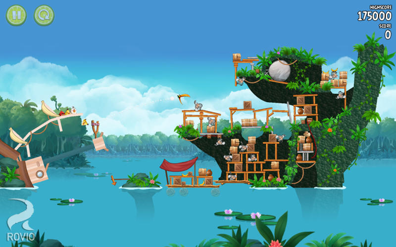 Screenshot 1 for Angry Birds Rio