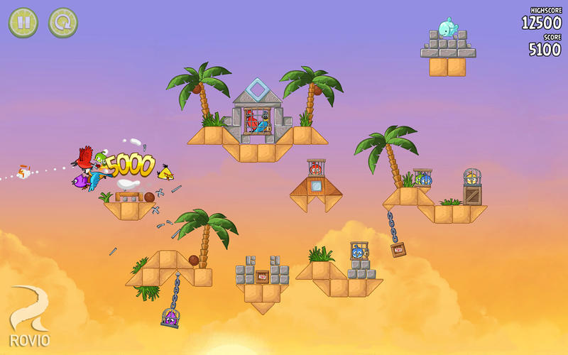 Screenshot 4 for Angry Birds Rio