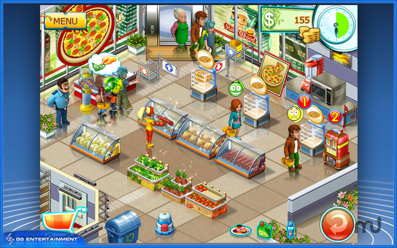 Screenshot 1 for Supermarket Mania 2