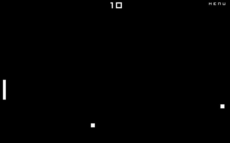 Screenshot 1 for Pong - Old School
