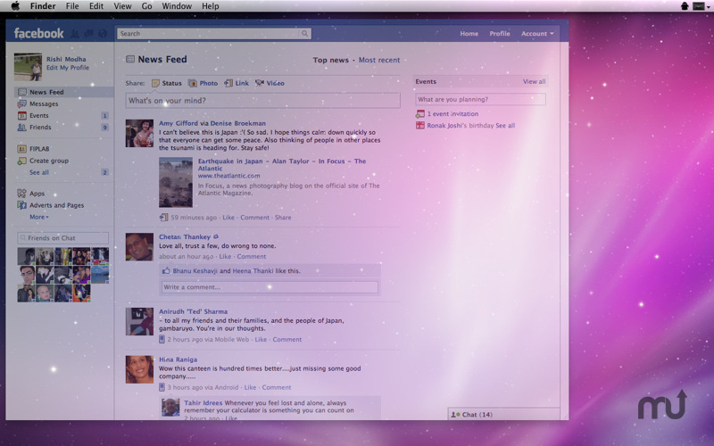 Screenshot 1 for Ghost for Facebook