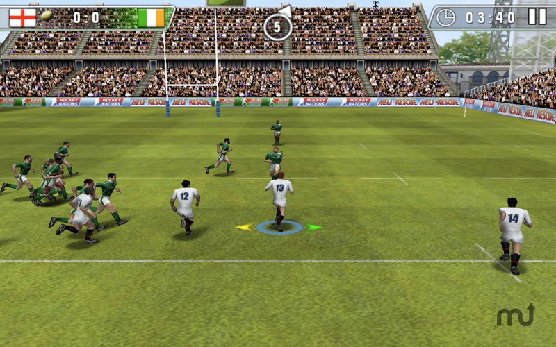Screenshot 1 for Rugby Nations 2010