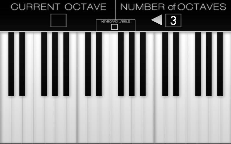 Screenshot 2 for Virtual Piano