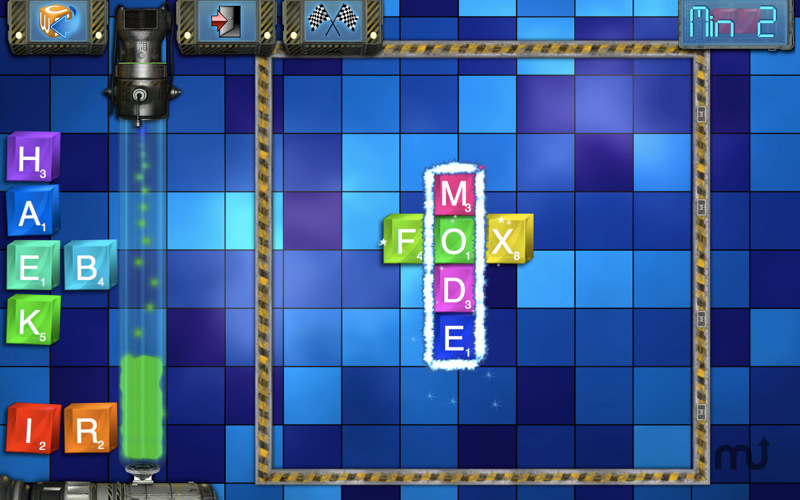 Screenshot 1 for Cube X Words