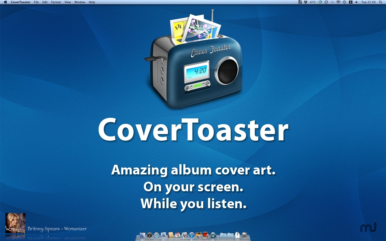 Screenshot 1 for CoverToaster