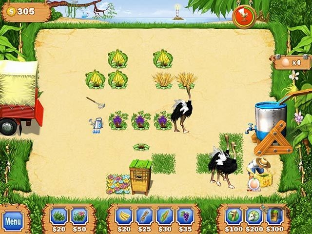 Screenshot 1 for Tropical Farm