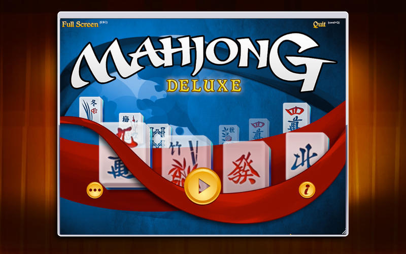 Screenshot 1 for Mahjong Deluxe