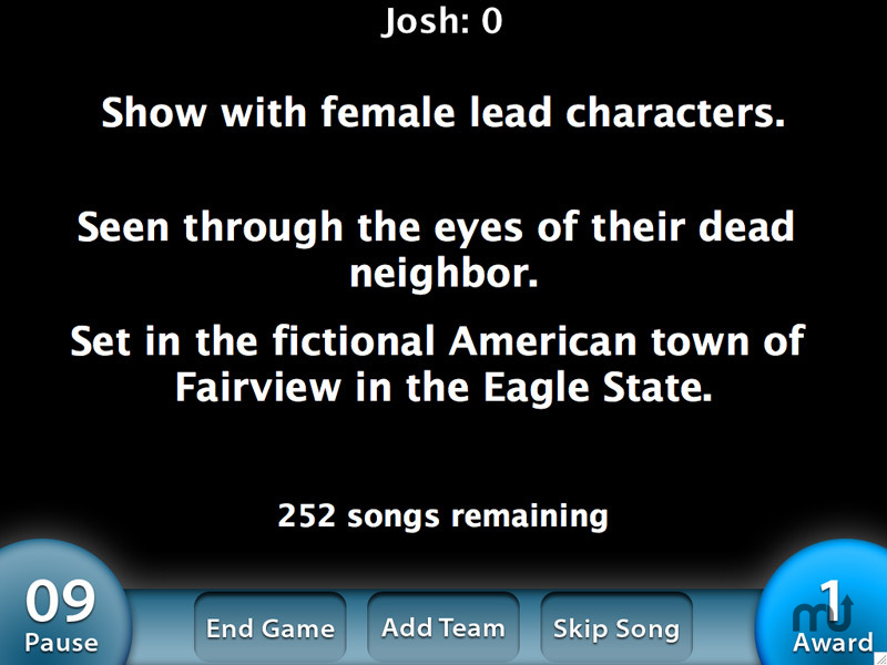 Screenshot 1 for Theme Song Trivia