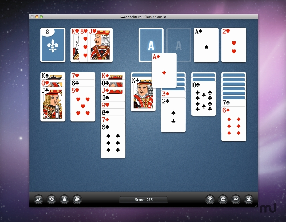 Screenshot 1 for Swoop Solitaire