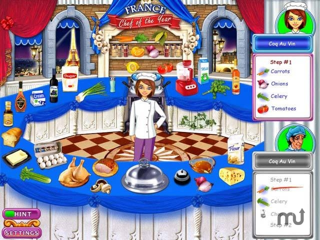 Screenshot 1 for Go Go Gourmet: Chef of the Year