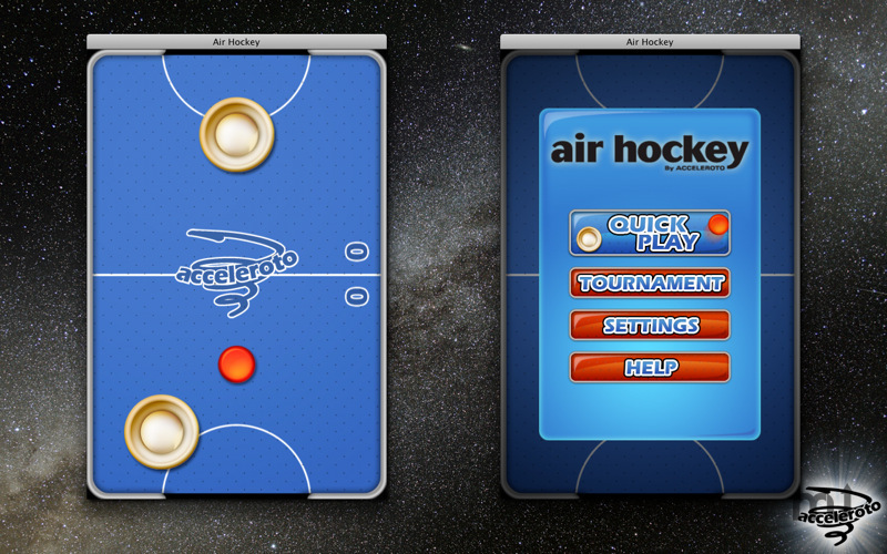 Screenshot 1 for Air Hockey