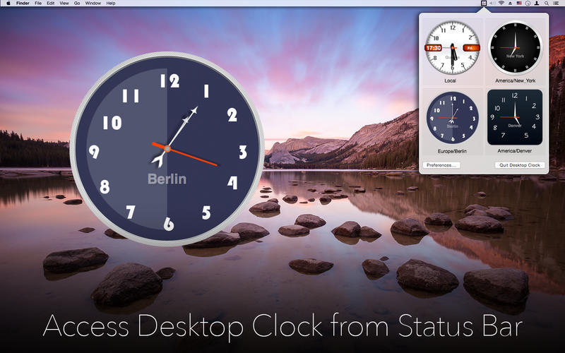 Desktop Clock 2 0 1 Purchase For Mac Macupdate