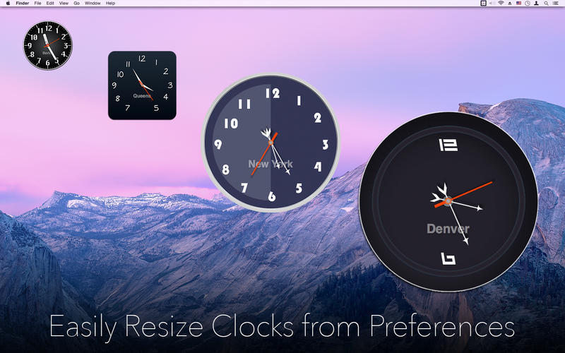 Screenshot 2 for Desktop Clock