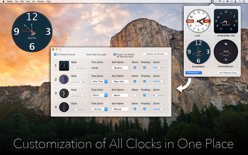 Screenshot 3 for Desktop Clock