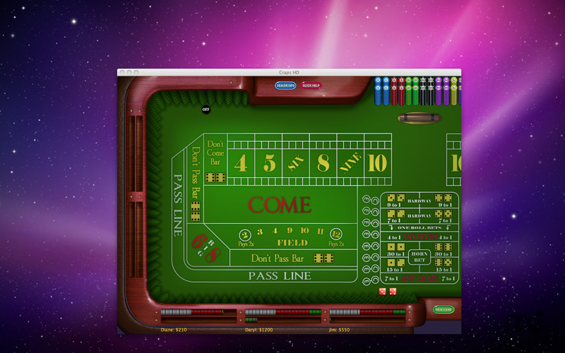 Screenshot 1 for Craps HD