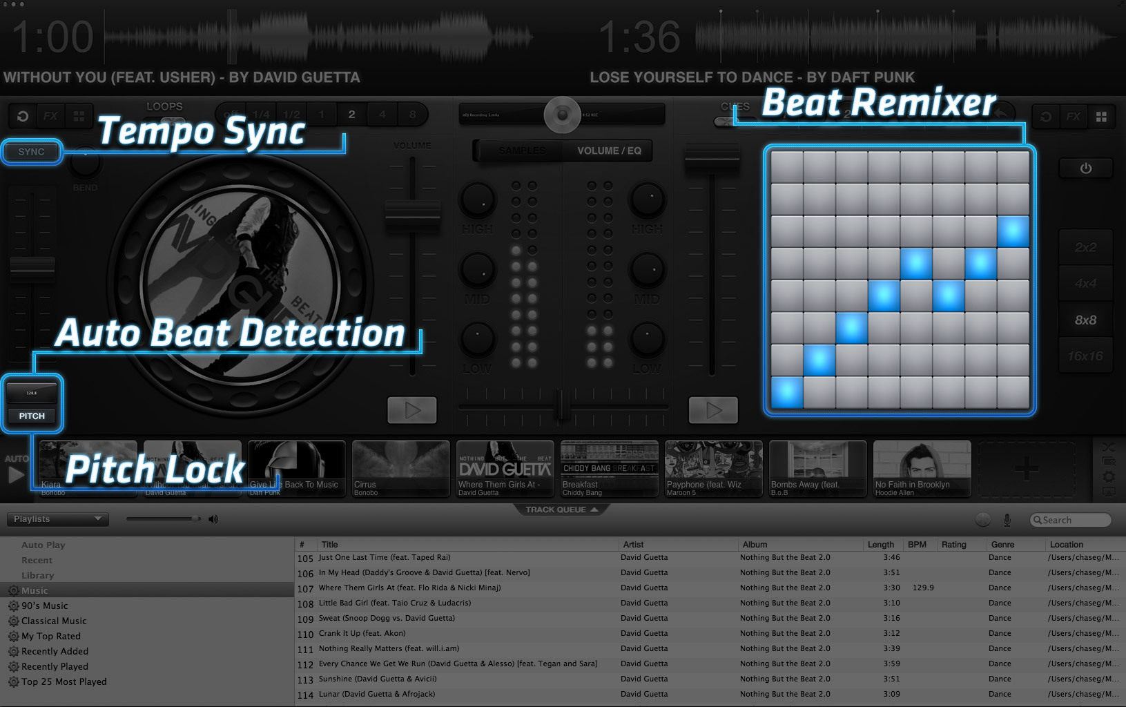 Screenshot 1 for itDJ