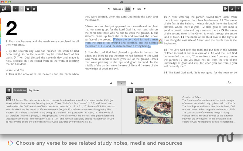 Screenshot 1 for Glo Bible