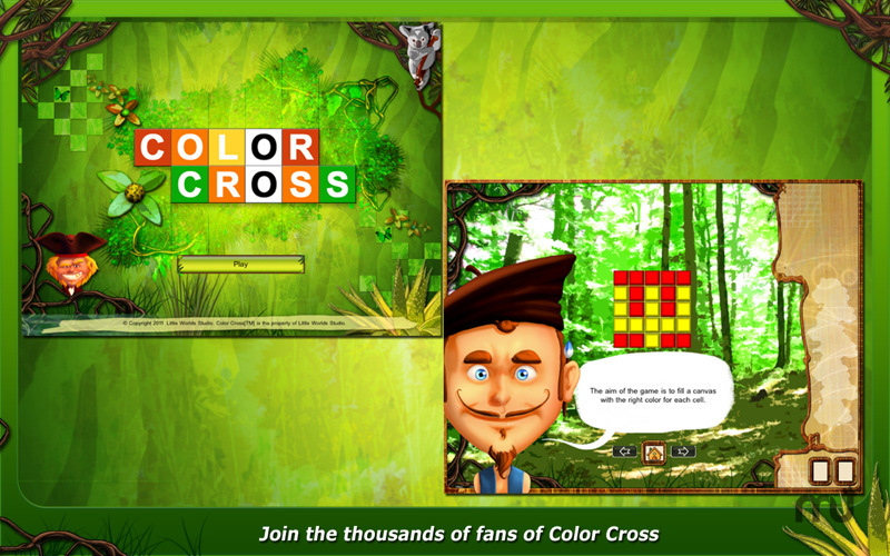 Screenshot 1 for ColorCross