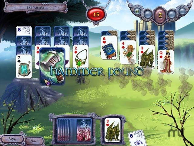 Screenshot 1 for Avalon Legends Solitaire