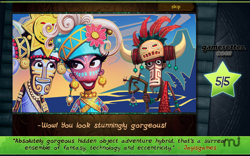Screenshot 1 for Tulula: Legend of a Volcano