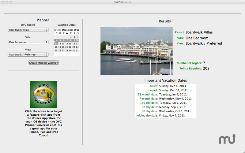 Screenshot 4 for DVC Calculator