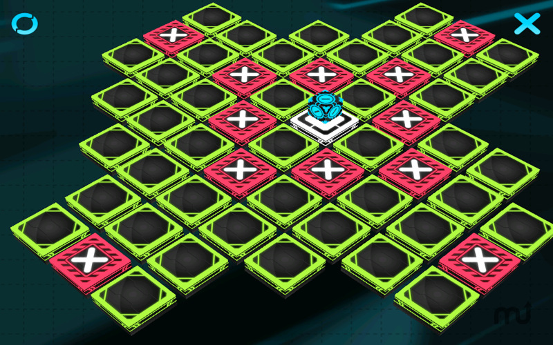 Screenshot 2 for Crazy Cubes 3D