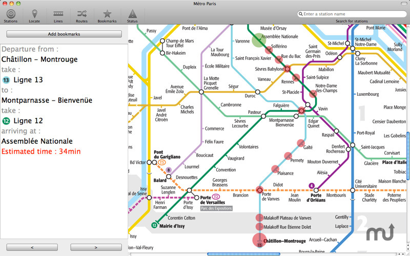 Screenshot 4 for Paris Metro
