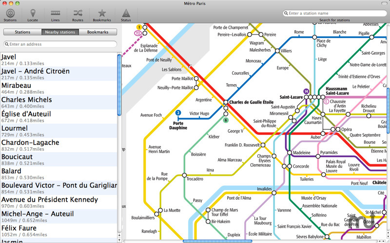Screenshot 5 for Paris Metro