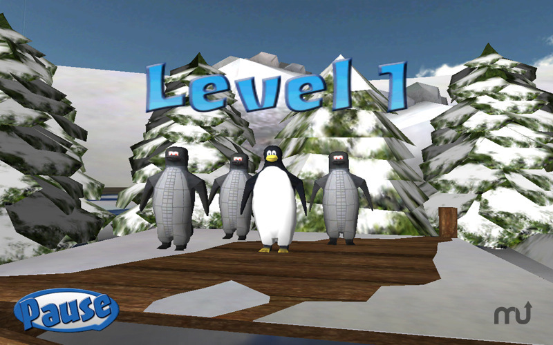 Screenshot 1 for Penguin Snowcap Challenge