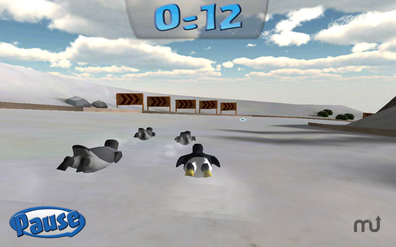Screenshot 2 for Penguin Snowcap Challenge