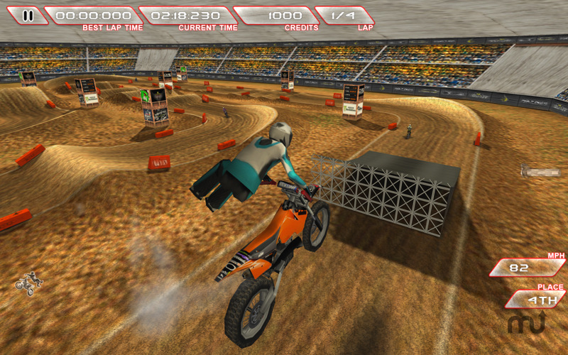 Screenshot 1 for Freestyle Dirt Bike