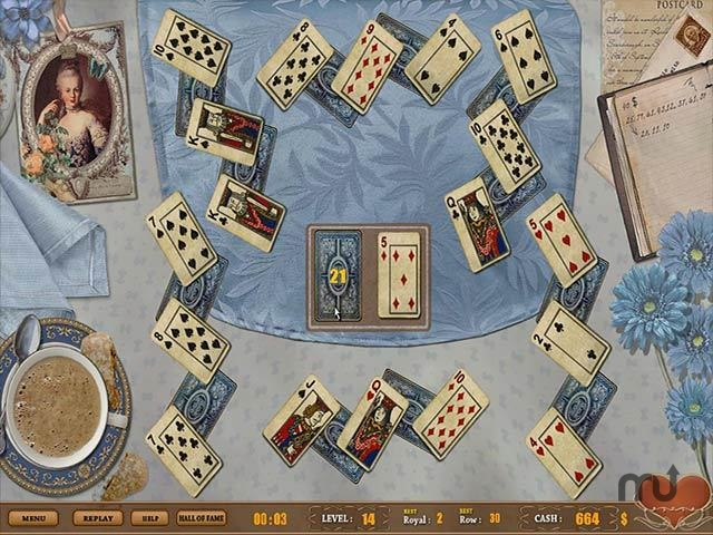 Screenshot 1 for Royal Challenge Solitaire