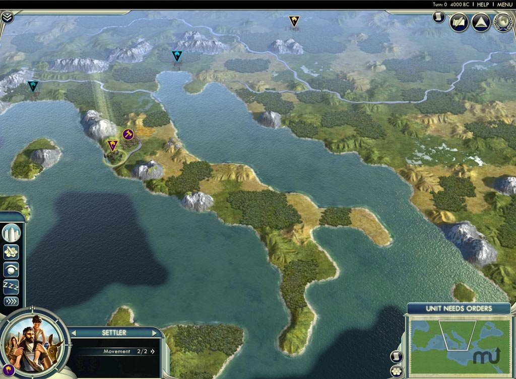 Screenshot 1 for Civilization V: Cradle of Civilization Maps Bundle
