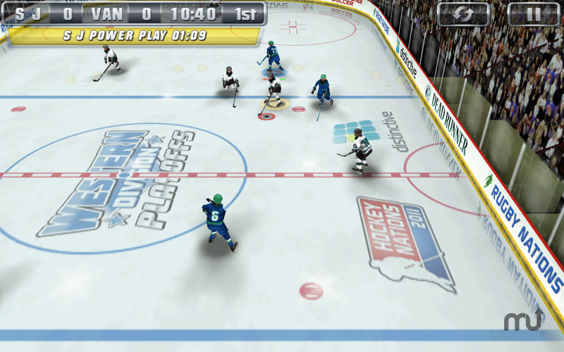 Screenshot 1 for Hockey Nations 2011